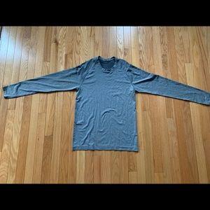 Grayish lululemon long sleeve shirt